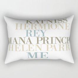 Kickass Heroines - Me Rectangular Pillow