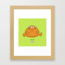 Bobble Jobble Framed Art Print