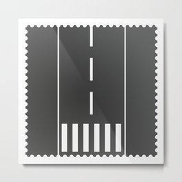 Stamp series - Abbey Road Metal Print