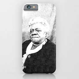 Mary Jane McLeod Bethune - SketchArt - American Educator Society6 Online Artworks 2332 iPhone Case