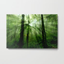 Joyful Forest Metal Print