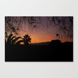 Natures Frame Canvas Print