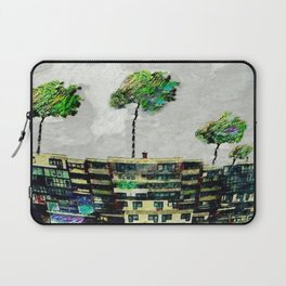 the story of green trees Laptop Sleeve