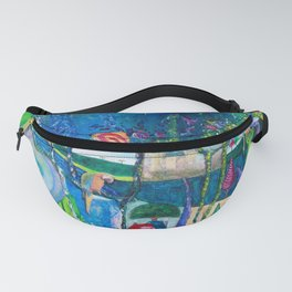 Traveling Into Infinity Fanny Pack