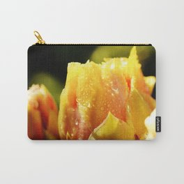 Raindrop Cactus Flower Carry-All Pouch