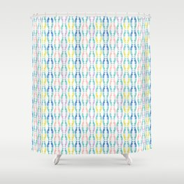 Pastel Greyhounds Shower Curtain
