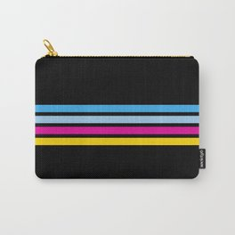 80's Love Retro Stripes Carry-All Pouch