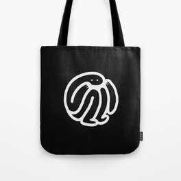 babble · negative ⎌ Tote Bag