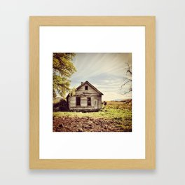 Abandoned & Forgotten Framed Art Print