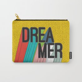 Dreamer Typography Color Poster Dream Imagine Carry-All Pouch