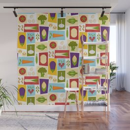 Farm to Table_pattern Wall Mural