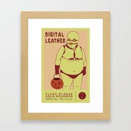 Digital Leather @ House of Loom Framed Art Print
