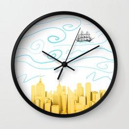 Sea of air  Wall Clock
