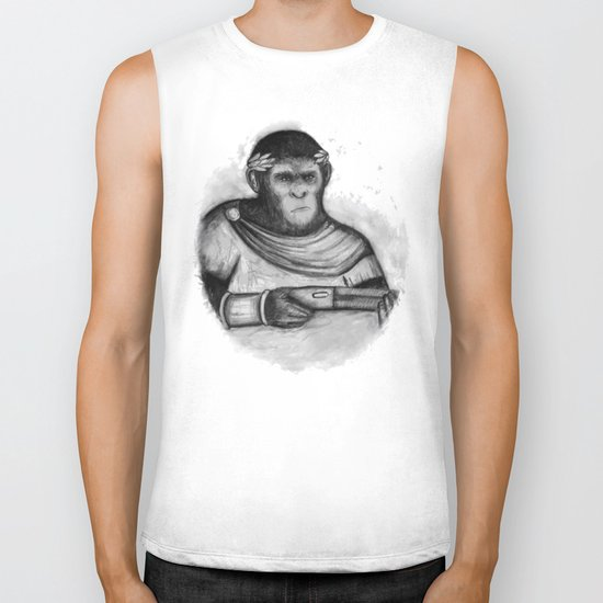 Caesar, the monkey Biker Tank