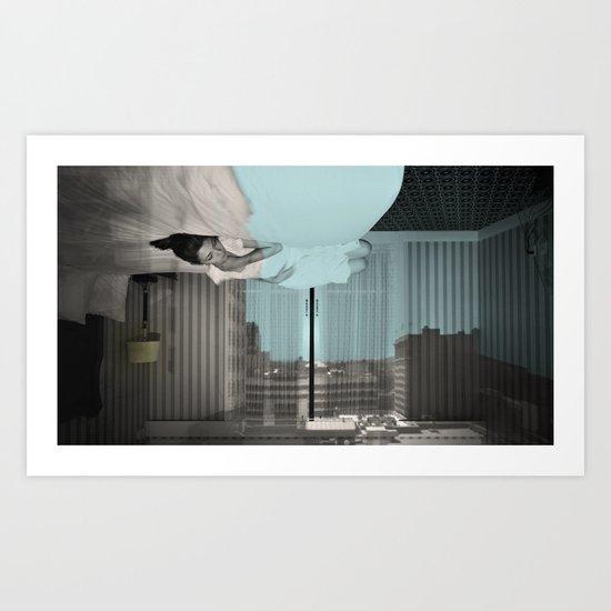 Camera Obscura: Outside In(n) 64 Art Print