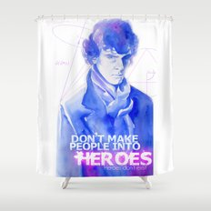 Consulting Detective Shower Curtain