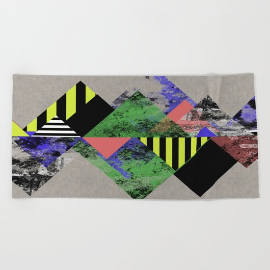 Triangles! Beach Towel