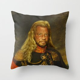 Duane 'Dog' Chapman - replaceface Throw Pillow