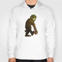 bigfoot Hoodies featuring Bigfoot by JoJo Seames