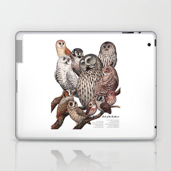 Owls of the Northeast Laptop & iPad Skin