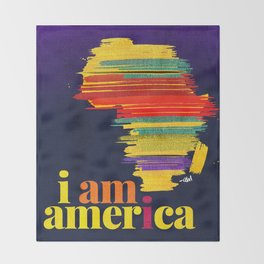 i am america. Throw Blanket