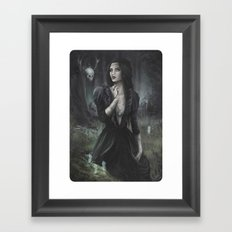 The Fate Framed Art Print
