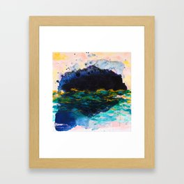 Shadows of Myself Framed Art Print