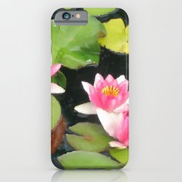 LILY PAD KOI 2 iPhone Case