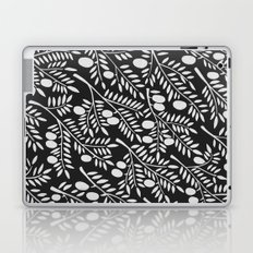 White Olive Branches Laptop & iPad Skin