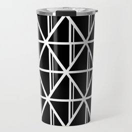 Diamond triangle pattern - Diamond stripe Travel Mug