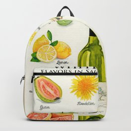 WHITE WINES - Flavors in Sauvignon Blanc Backpack