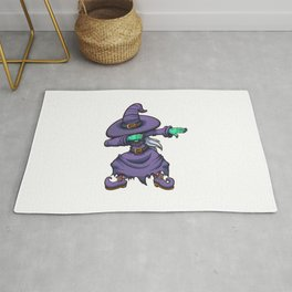 Dabbing Witch Rug