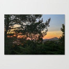 Sunset in Idaho Canvas Print