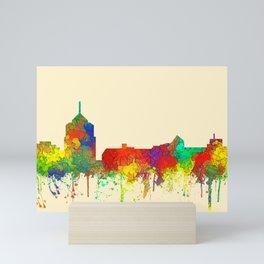 Roanoke, Virginia Skyline - SG Mini Art Print
