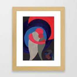 Two in Harmony Framed Art Print