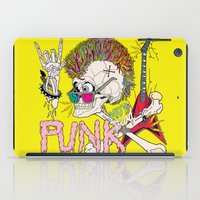punk iPad Cases featuring Punk by dogooder