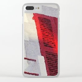 Basque Red in Sunlight Clear iPhone Case