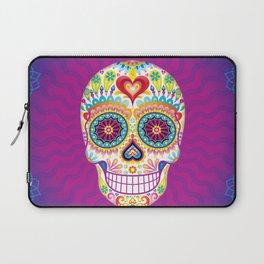 Sugar Skull Art (Luminesce) Laptop Sleeve
