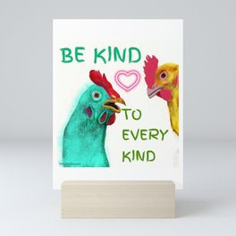Be Kind Mini Art Print