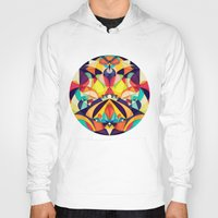 geometry Hoodies featuring Poetry Geometry by Anai Greog