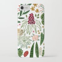 plants iPhone & iPod Cases featuring Plants by Roxanne Bee