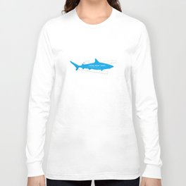 Main Theme from Jaws Long Sleeve T-shirt