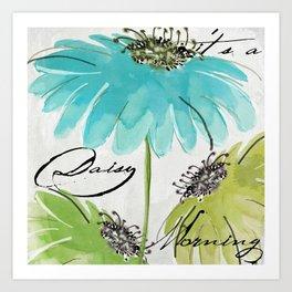 Daisy Morning I Art Print