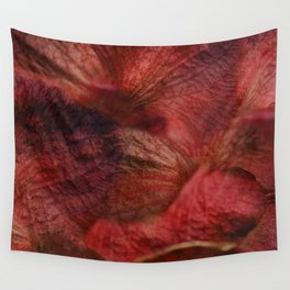 Red Hot Orchids Wall Tapestry
