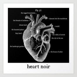 Fig. 37 Heart Noir Art Print