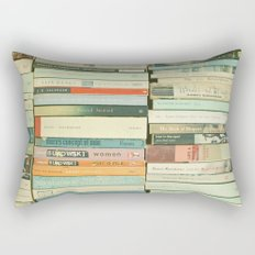 Bookworm Rectangular Pillow
