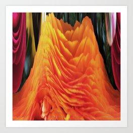 491 - Abstract Flower Design Art Print