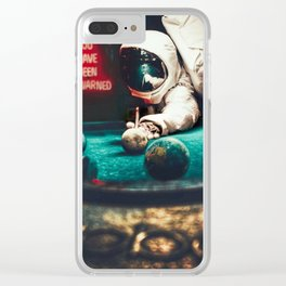 WARNED Clear iPhone Case