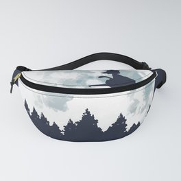 The Moon on Dragon Ball Fanny Pack