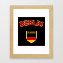 Berlin, Germany, Berlin sticker, Berlin t shirt, Berlin poster, Deutschland Framed Art Print